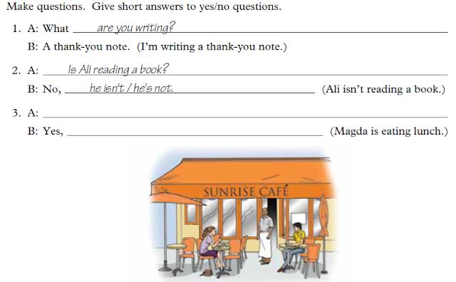 Belajar Bahasa Inggris Yuk! #10 The Present Continuous Tense : Negatives and Questions