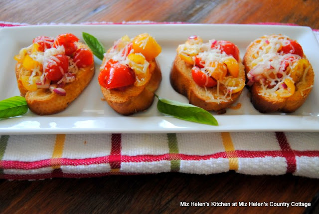 Bruschetta at Miz Helen's Country Cottage
