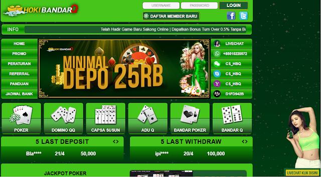 HokibandarQ Daftar Agen Bandar Sakong Kiu Poker Domino QQ Online