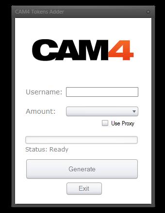 Webcam token