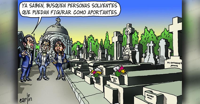 Carlincaturas Martes 27 Noviembre 2018 - La República