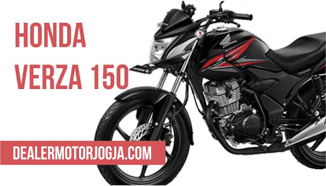 Harga Promo Cash Kredit Honda Verza 150 CW Agustus 2016 untuk Wilayah Jogja dan Sekitarnya