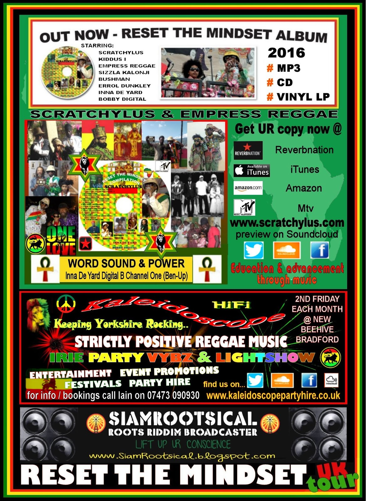 Siamrootsical Roots Riddim Broadcaster Scratchylus