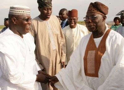 why should atiku beg obasanjo