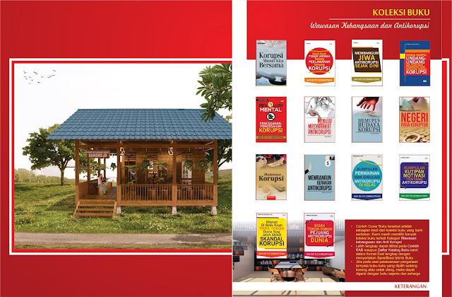 Buku Wawasan Kebangsaan dan Antikorupsi Untuk Perpustakaan Desa