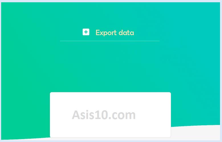 Cara export data menggunakan excel macro