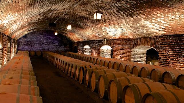 Estrutura da vinícola Concha y Toro em Santiago do Chile