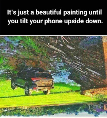 Car Accident Optical Illusion