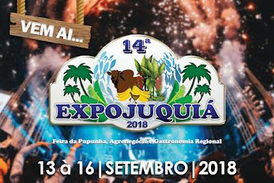 Vem aí! 14ª EXPOJUQUIÁ, a maior feira do agronegócio do Vale do Ribeira.