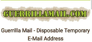 Guerrilla Mail - Disposable Temporary E-Mail Address tool