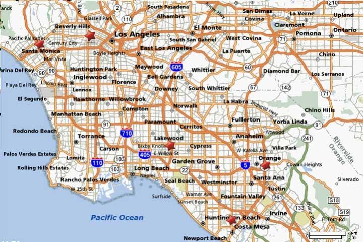 Angeles City Map