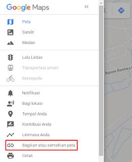 Cara Memasang Google Map Di Blog Dengan Mudah