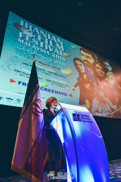 Iranian Film Festival 2018 Malaysia Launch at GSC Pavilion KL - Golden Screen Cinemas Sdn Bhd (GSC) chief executive Koh Mei Lee