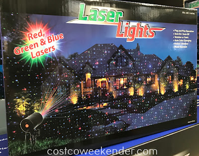 Bring in the holiday cheer for your home with the Laser Lights Projector