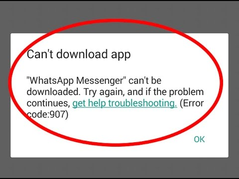 cannot download apps from android play store
