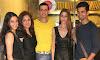 Smita Bansal, Munisha Khatwani, Rohit Narang, Shilpa Saklani and Vishal Singh at  'Stir Crazy' Restaurant Launch