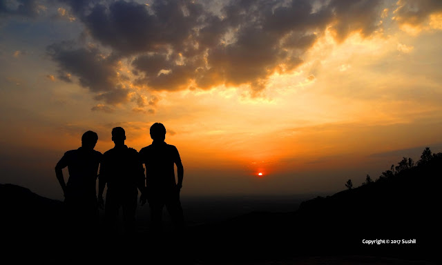 Beautiful Sunrise of Nandi Hills, Bangalore