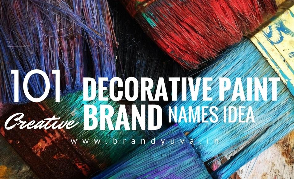101 catchy paint brand names idea brandyuvain - Paint Brand Names