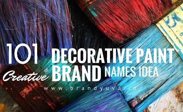 paint brand names idea