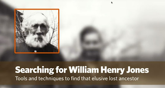 Searching for William Henry Jones by Jon Nedry
