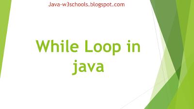 Java While Loop - While loop Example Programs, Nested While Loop Examples