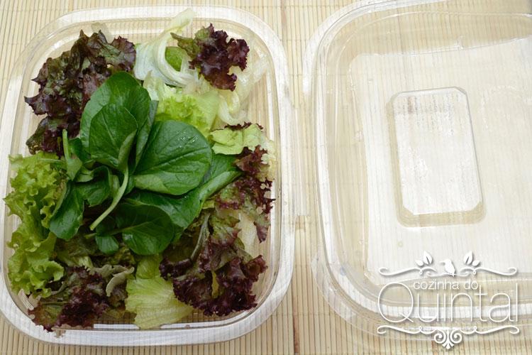 Saladeira Suprema G 24 da Galvanotek, ótima opção para salada verde