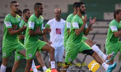 المنتخب الجزائرى على اتم الاستعداد لمباراته امام الارجنتين فى الجولة الثانية من اوليمبياد ريو دى جانيرو 2016
