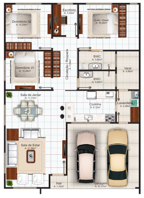 House plan for construction