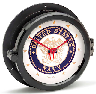 https://bellclocks.com/collections/military-clocks/products/chelsea-u-s-navy-patriot-deck-clock-red-hands