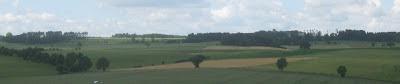 Hecken und Felder - Am Fuße des Frankenwalds