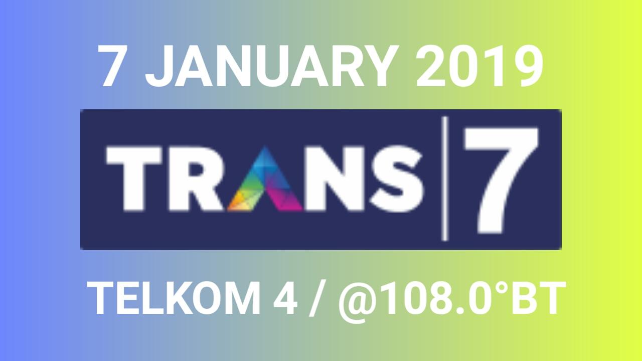 frekuensi trans 7 terbaru 2019 telkom 4