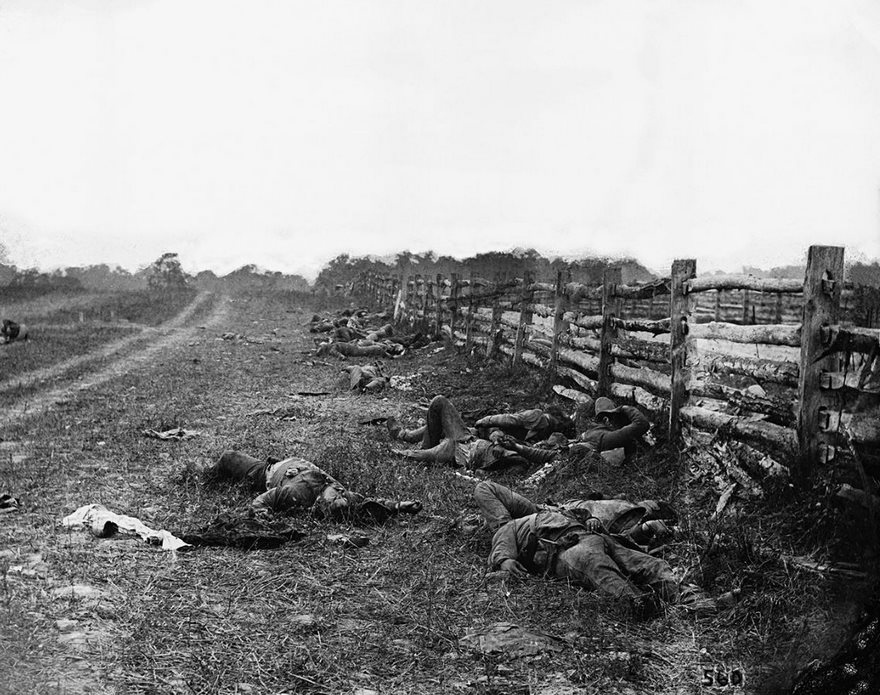 #65 The Dead Of Antietam, Alexander Gardner, 1862 - Top 100 Of The Most Influential Photos Of All Time