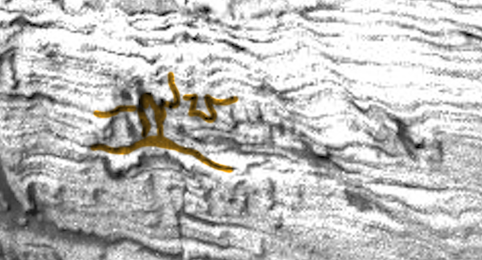 Ufo sightings daily carvings similar to cave paintings