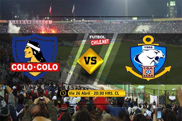 Mira Colo Colo vs Antofagasta en vivo y online por la Primera Division