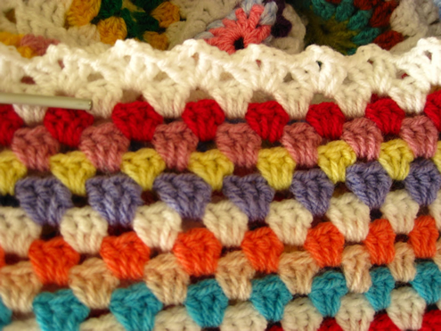 Verrassend 10 pretty crochet edges for crochet blankets - Happy in Red LF-31