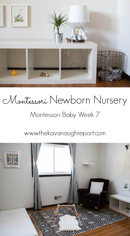 Newborn Nursery Montessori Baby Week 7