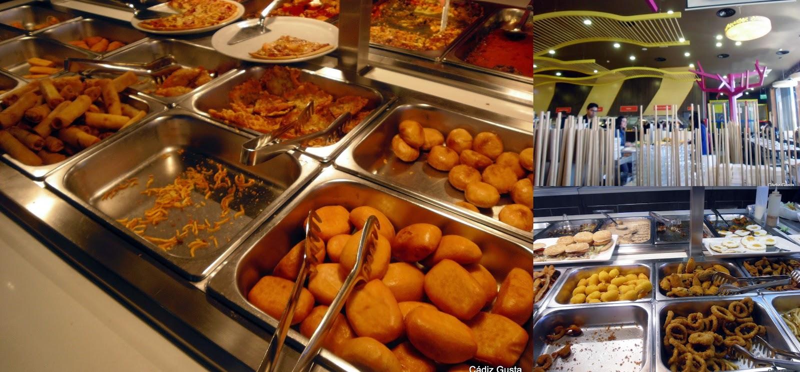 C diz gusta asador city wok en palmones for Cocina wok industrial