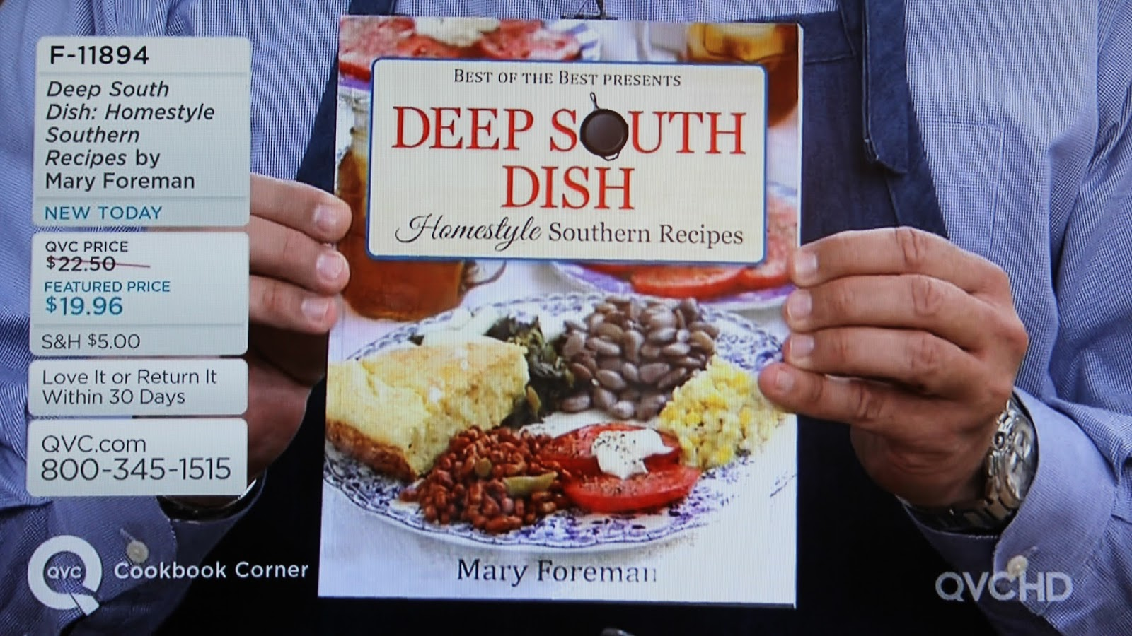 Deep South Dish: My QVC Experience