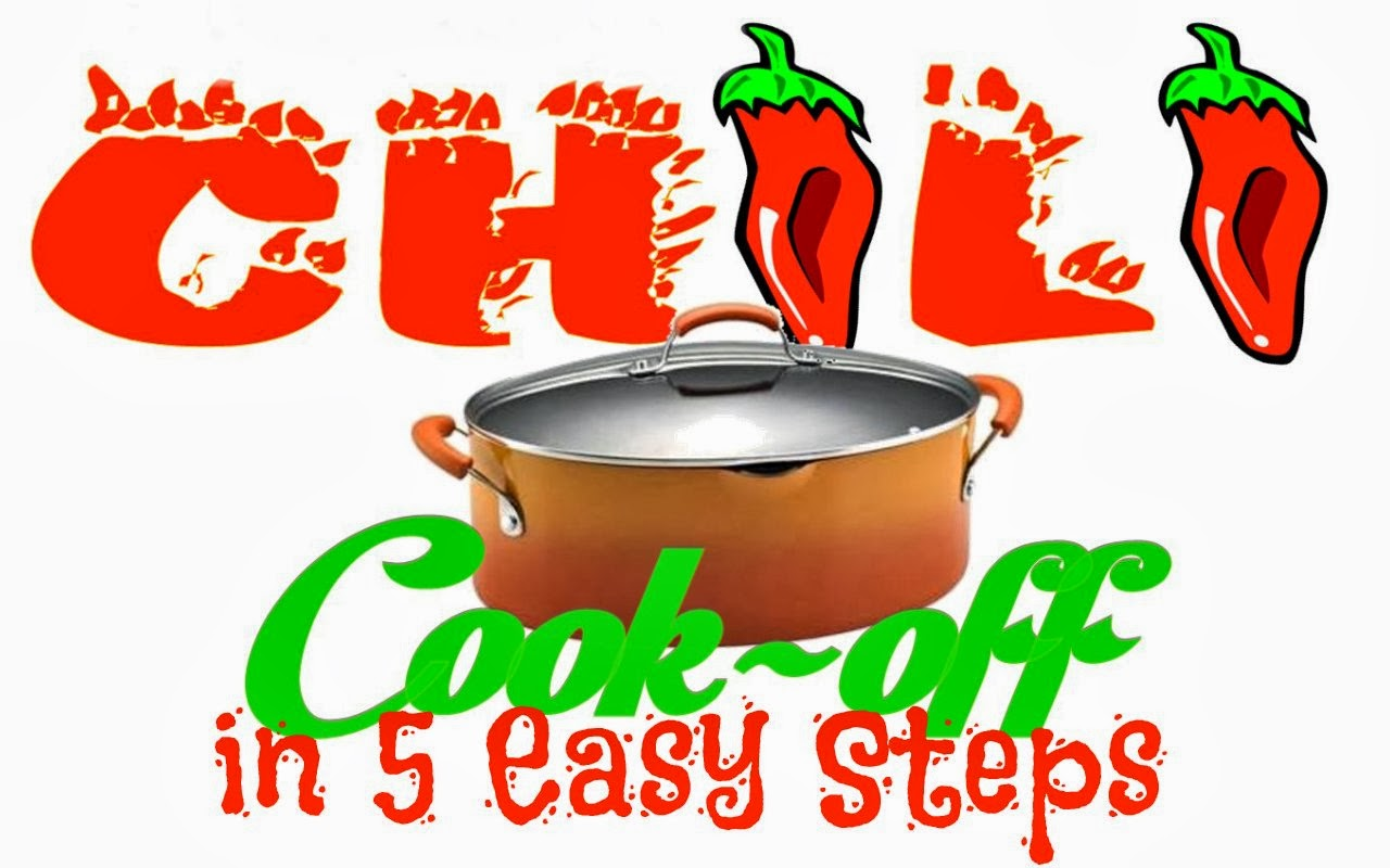 Hosting a Chili Cook Off in 5 Easy Steps with printables