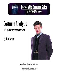 11th Doctor velvet waistcoat analysis