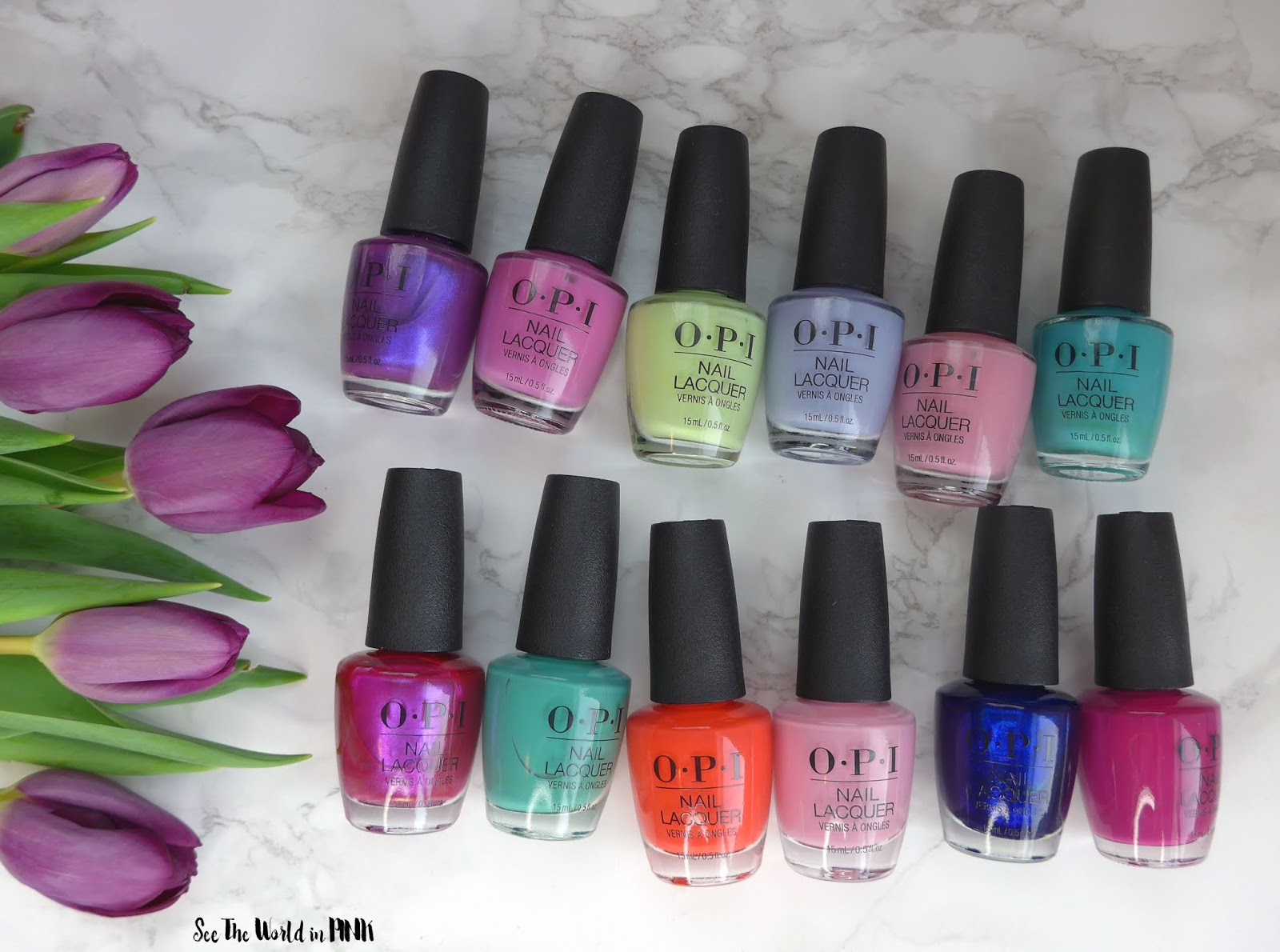 Manicure Monday - OPI Tokyo Collection for Spring and Summer 2019