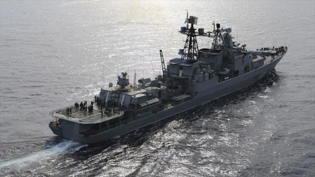 Rusia cierra Mediterráneo este para impedir ataque israelí a Siria