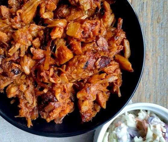 Vegetarian Pulled Pork #Vegetarian #HealthyFood