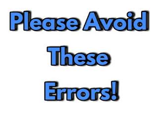 Some Grammatical Errors Even Graduates Make