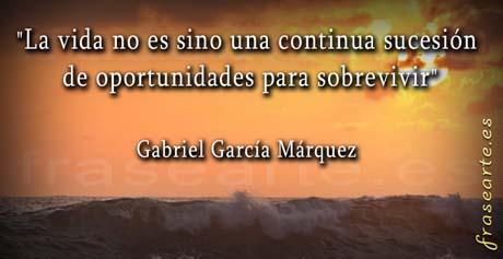 postales con frases de Gabriel García Márquez