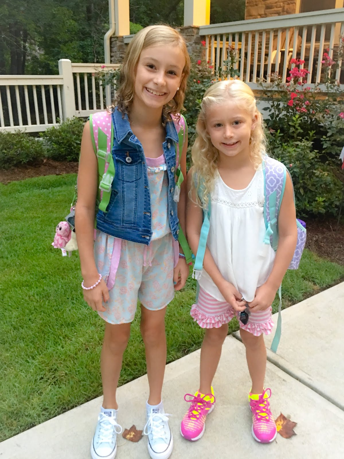 Little Hip Chicks First Day Of School