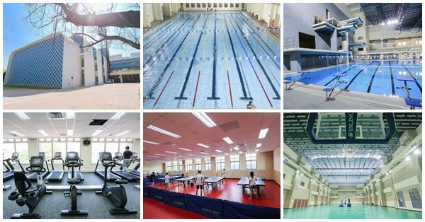 台中北區|北區國民運動中心-國際級游泳池、體適能中心、綜合球場,羽桌球場館一覽