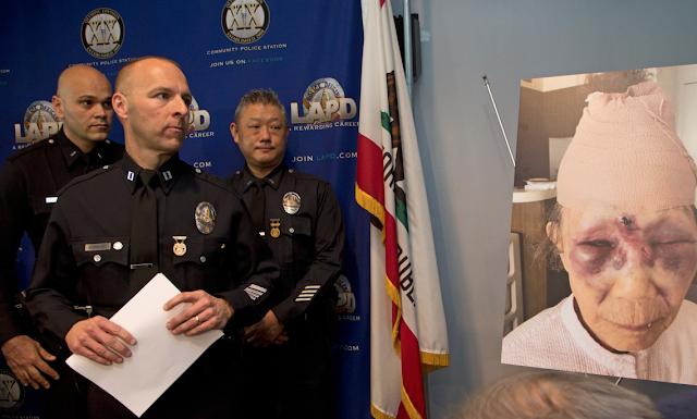 86-year-old woman beaten in random LA street attack