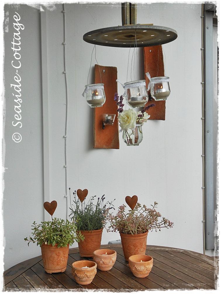 seaside cottage from trash to treasure h ngende windlichter. Black Bedroom Furniture Sets. Home Design Ideas