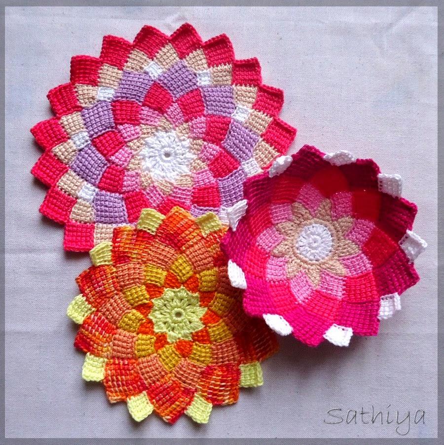 My Sweet Lemons Tunesisches Häkeln Entrelac Crochet
